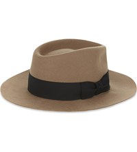 The Kooples Camille Felt Hat Camel