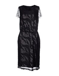 Class Roberto Cavalli Dresses Knee Length Dresses Women Black