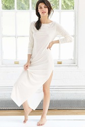 Out From Under Bodycon Maxi Dress White