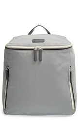 Ben Minkoff 'Indy Dad' Nylon Baby Backpack Medium Grey