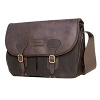 Barbour Waxed Cotton Bag Brown One Size