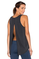 Solow Split Lounge Tank Black