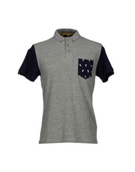 Bellfield Polo Shirts Grey