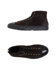 Rocco P. High Tops And Trainers Dark Brown