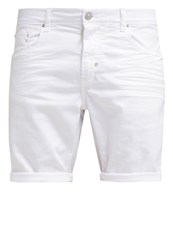 Antony Morato Jason Denim Shorts White