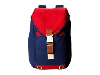 Volcom Fifty Fourth Canvas Backpack Midnight Blue Backpack Bags