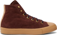 Kolor Maroon Suede High Top Sneakers
