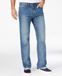 Tommy Hilfiger Men's Relaxed Fit Vintage Wash Jeans