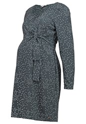 Esprit Maternity Summer Dress Dark Grey Dark Gray