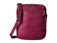 Pacsafe Citysafe Cs150 Anti Theft Crossbody Shoulder Bag Cranberry Cross Body Handbags Red