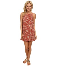 Vans Marie Dress Autumn Leaves Women's Dress Red