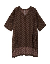 Melissa Mccarthy Seven7 Plus Wing Print V Neck Hi Lo Short Sleeve Tee Purple
