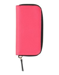 Emilio Pucci Small Leather Goods Key Rings Women Fuchsia