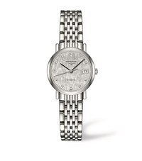 Longines Elegant Collection Watch Unisex Silver