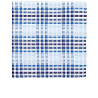 Simonnot Godard Men's Hampton Pocket Square Blue