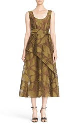 Tracy Reese Women's Belted Fil Coupe Tank Dress