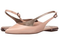 Sam Edelman Hadley Soft Nude Talco Kid Leather Women's Dress Flat Shoes Beige