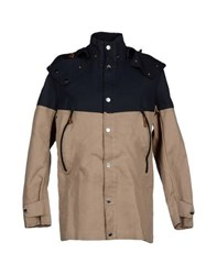 Diadora Heritage Coats And Jackets Jackets Men Sand