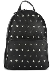 Red Valentino Studded Medium Backpack Black