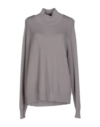 Selected Femme Turtlenecks Light Grey