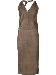 Alexandre Plokhov O Ring Dress Brown