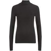 Selected Femme Women's Melissa Turtleneck Jumper Black