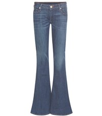 True Religion Karlie Low Rise Flared Jeans Blue