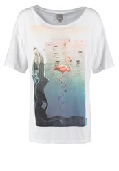 Bench Vastness Print Tshirt Bright White