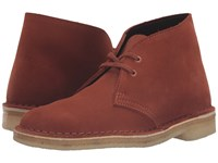 Clarks Desert Boot Dark Tan Suede Women's Lace Up Boots