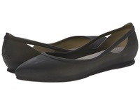 Crocs Rio Flat Black Platinum Women's Flat Shoes