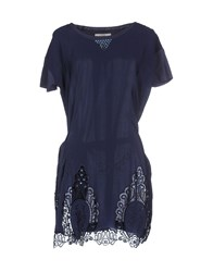 Vdp Club Dresses Short Dresses Women Dark Blue