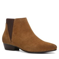 Aldo Siman Flat Ankle Boots Light Brown