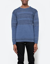 S.N.S. Herning Fisherman Crewneck Spatial Blue