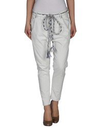 Novemb3r Denim Denim Trousers Women