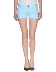 Current Elliott Denim Denim Shorts Women Salmon Pink