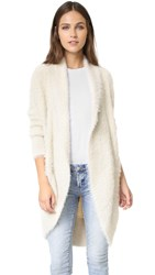 Bb Dakota Edwin Fuzzy Cocoon Sweater Oatmeal