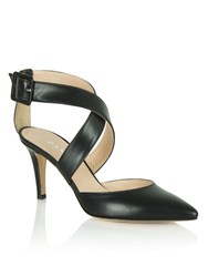 Daniel Maida Vale Thick Strap Court Shoes Black