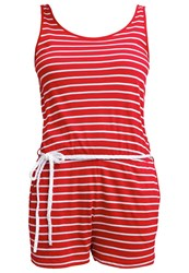 Twintip Jumpsuit Red White