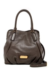 Marc By Marc Jacobs Fran Leather Satchel Gray