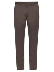 Paul Smith Cotton Blend Chino Trousers Grey