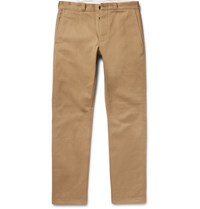 J.Crew Wallace And Barnes Selvedge Cotton Drill Chinos Tan