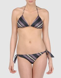 Katharine Hamnett Beach For Yooxygen Bikinis Purple