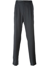 Emporio Armani Tailored Trousers Grey