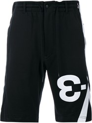 Y 3 Logo Sweatshorts Black
