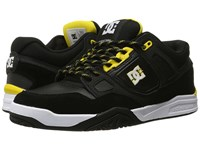 Dc Stag 2 Black Yellow Men's Skate Shoes Gray