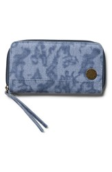 Junior Women's Volcom 'Outta Town' Zip Around Wallet