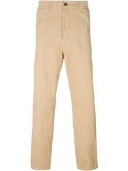 Universal Works Relaxed Trousers Nude And Neutrals