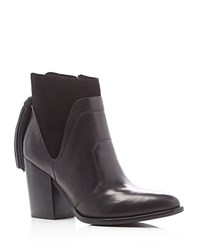Marc Fisher Ltd. Janay Tassel High Heel Booties Black