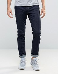 Selected Homme Rinse Wash Jeans With Stretch In Slim Fit Blue