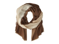 Vera Bradley Soft Wool Scarf Ombre Taupe Scarves Brown